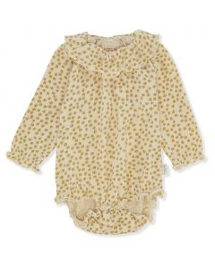 Konges Sløjd Chleo Blomstret Body Buttercup Yellow