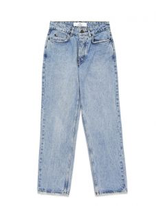 Won Hundred Pearl Distressed Blue Jeans