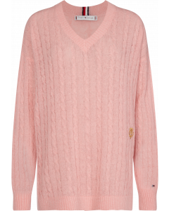 Tommy Hilfiger Essential Cable Rose Sweater